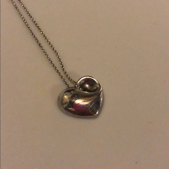 Tiffany & Co. Jewelry - Tiffany & Co. Sterling Silver Heart Necklace